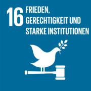 16 Frieden, Gerechtigkeit und starke Institutionen
